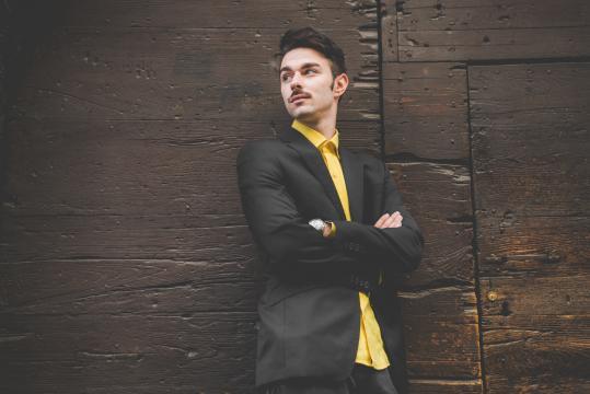 JurijGami, il singolo d'esordio si intitola Christian De Sica. (ph. MorningBell)