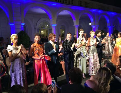 'Arte Sartoriale 2018' dell'Accademia Nazionale dei Sartori il 9 luglio sera nella cornice di Villa Miani.