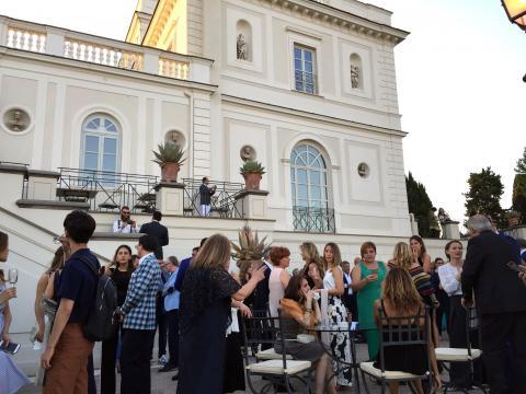 """""""Arte Sartoriale 2018"""" il 9 luglio sera nella cornice di Villa Miani a Roma"""