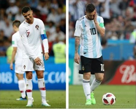 Un couple divorce à cause de la rivalité Messi - Ronaldo