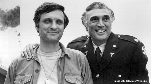 Alan Alda, now 82, has started his own podcast. [Image CBS Television/Wikimedia]