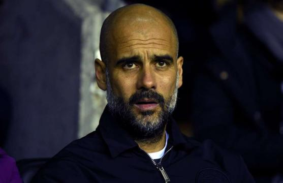 Pep Guardiola reacts to tunnel clash with Paul Cook - also ... - givemesport.com