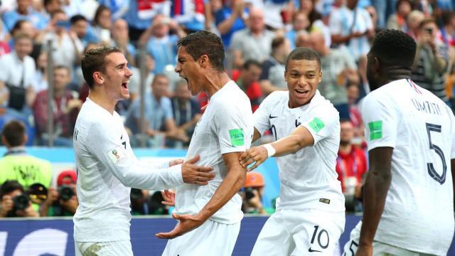 Varane metió un gol de pelota parada con un cabezazo mortal. FIFA.com