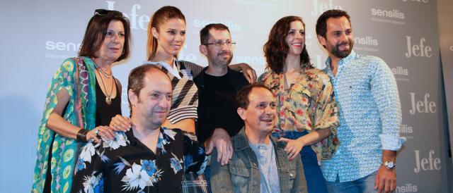 Elenco de actores de Jefe, comedia dirigida por Sergio Barrejón