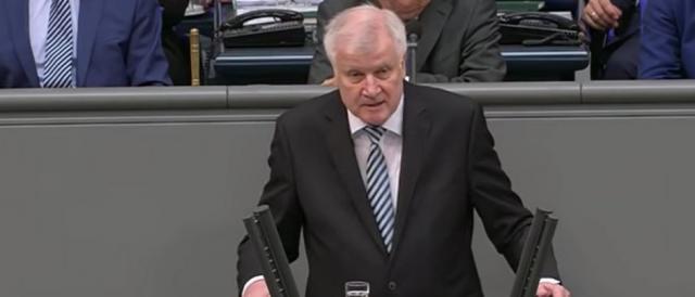 Horst Seehofer, ministro dell'Interno tedesco