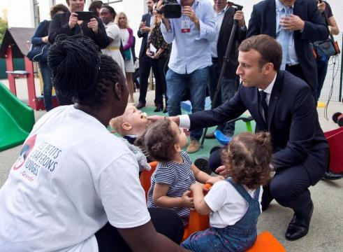 Macron dit vouloir «transformer» la lutte contre la grande ... - liberation.fr