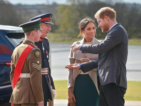 Prince Harry and Ms Markel attend 'Amazing The Space' event (Image courtesy – Northern Ireland Office, Wikimedia Commons)