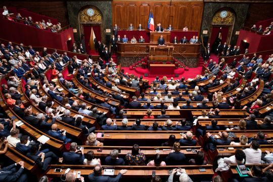 Discours du Président de la République devant le Parlement réuni