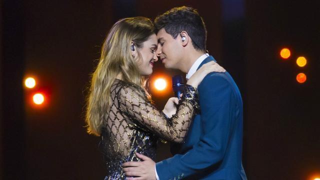 Eurovisión - Actuación de Amaia y Alfred en la Primera Semifinal ... - rtve.es