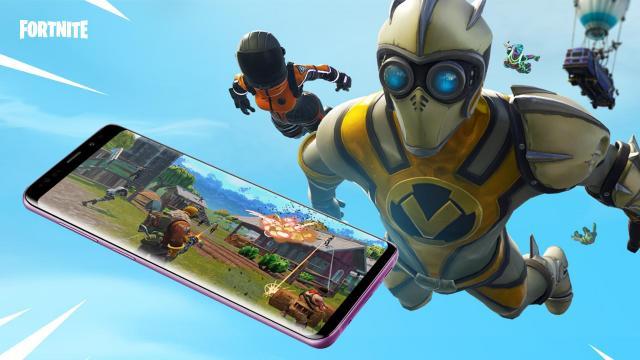 Fortnite Battle Royale per smartphone.