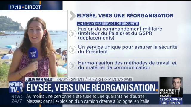Sécurité, porte-parolat, DRH... comment Macron entend réorganiser l'Elysée
