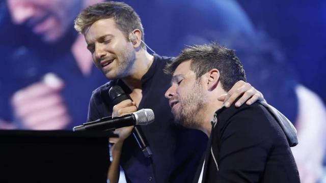 Pablo Alborán y Pablo López en concierto