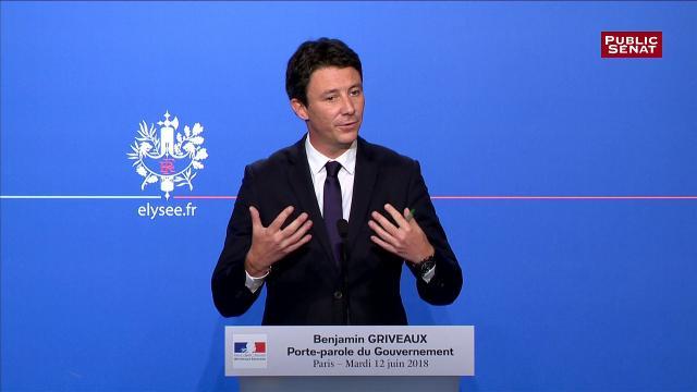 Benjamin Griveaux défend la position du gouvernement