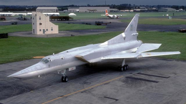 The new Tu-22 will soon be operational. [image source: US military power - YouTube]