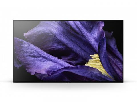 Sony presenta 2 nuevos televisores con el modo calibrado de Netflix - televisor LCD AF9 con pantalla OLED