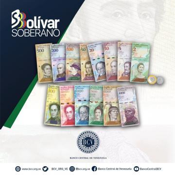 Cono monetarío, Bolívar Soberano
