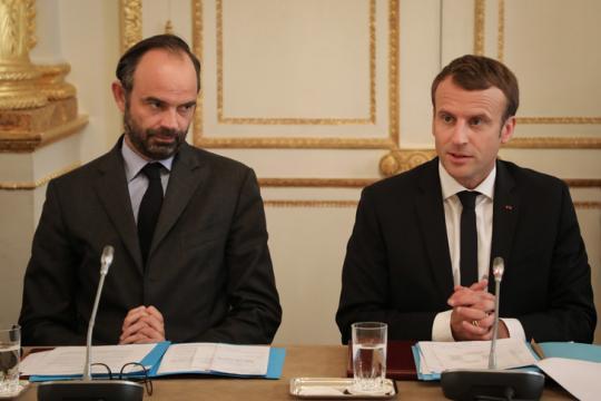 Emmanuel Macron et Edouard Philippe au front pour la rentrée