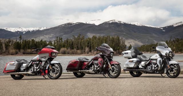 Harley-Davidson 2019, ecco i tre modelli della famiglia CVO - RED Live - red-live.it