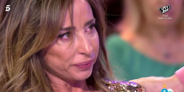 María Patiño abandona el plató de 'Sálvame Deluxe' entre lágrimas ... - bekia.es