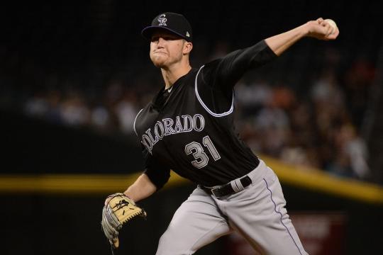 Kyle Freeland ha sido el ace de los Rockies en 2018. MLB.com.