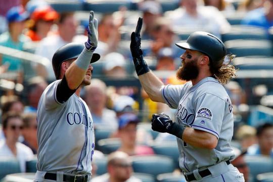 Story y Blackmon son los otros dos maderos explosivos de la ofensiva de Colorado. MLB.com.