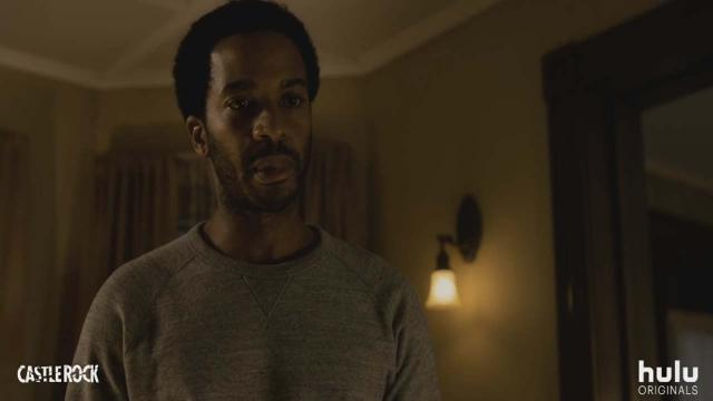 Andre Holland plays a lawyer, Henry Deaver, who returns to his home town to represent a mysterious man. [Image Hulu/YouTube]