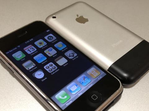 My original iPhone 2G(s) to iPhone OS