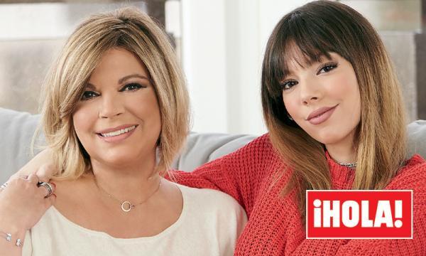 Terelu Campos posa junto a su hija Alejandra Rubio