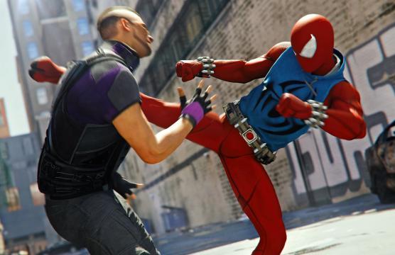 Marvel's Spider-Man: un frame del gioco - time.com