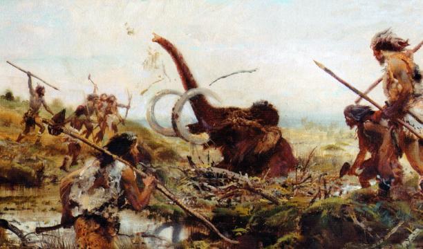 Os mamutes foram extintos em função do fim da última Era do Gelo e da caça humana desenfreada