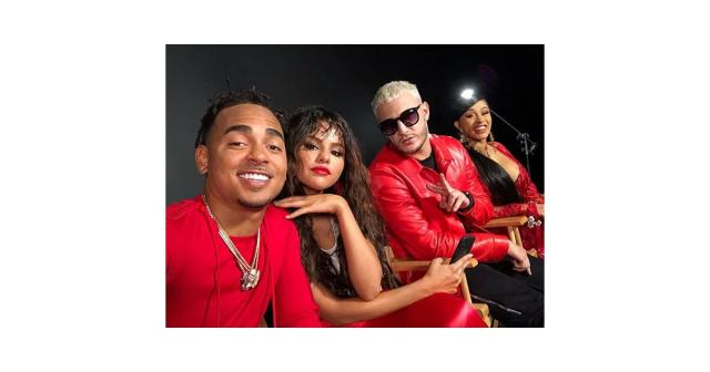 Selena Gomez and Cardi B With DJ Snake and Ozuna 2018 | POPSUGAR ... - popsugar.com
