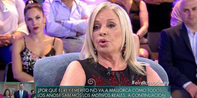 Bárbara Rey juega al misterio cuando le preguntan por Don Juan ... - bekia.es