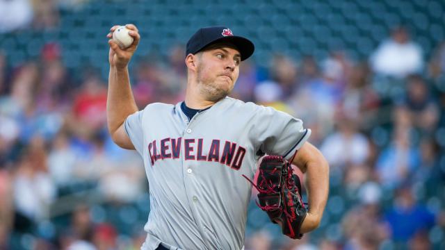 Bauer ha sido un sólido tercer abridor para los Indians de Terry Francona. MLB.com.