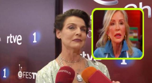 Enfrentamiento entre Antonia Dell Atte y Carmen Lomana que les lleva a no hablarse