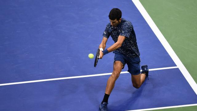 La defensiva de Djokovic fue parte de la clave del triunfo del serbio en la final. USOpen.org