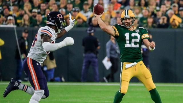 Rodgers volvió a ser la pesadilla de los Bears. NFL.com.