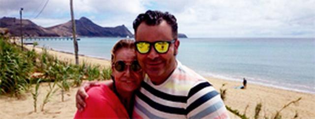 Jorge Javier celebró su 44 cumpleaños de vacaciones en la playa ... - eldiario.es