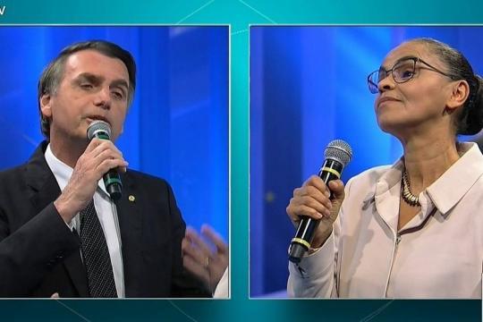 Em levantamento de 2º turno do RealTime Big Data/Record TV, Bolsonaro vence todos menos Marina - alertaparaiba.net