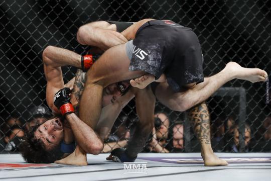 Magomedsharipov tiene estampa de ser un futuro campeón de peso pluma. UFC.com.