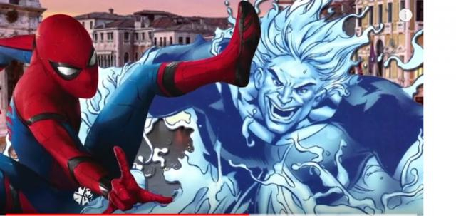 Spider-Man: Far From Home Teaser (2019) Marvel [Image courtesy – 9Media, YouTube video]