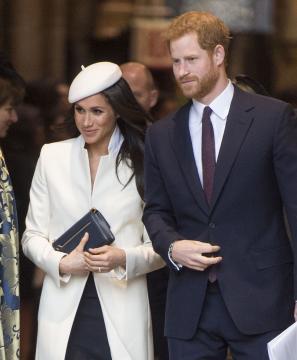 Los duques de Sussex. La duquesa ha ganado reputación por su estilo de la moda