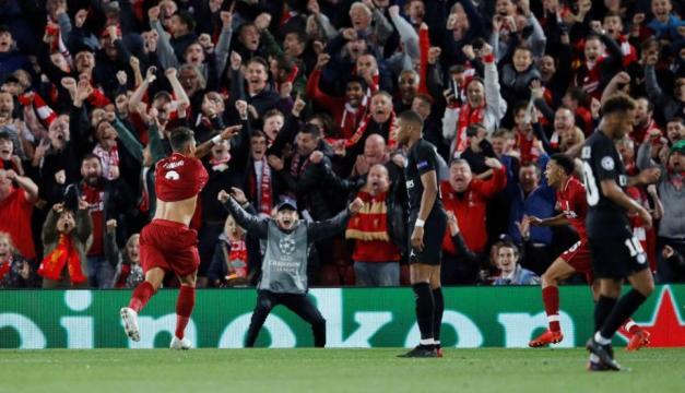 Firminho y el Liverpool dejaron tendidos en el césped al PSG. MARCA.com.