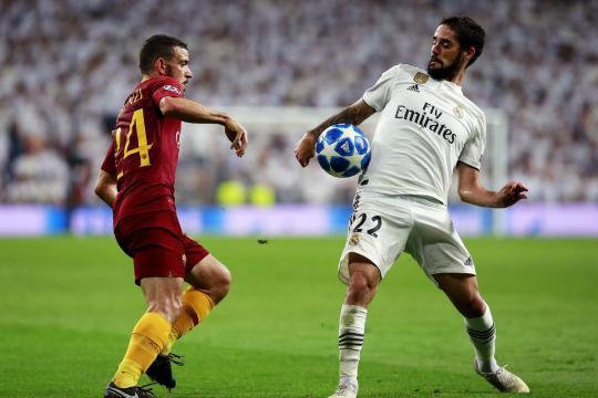 Isco otra vez fue el que más toques tuvo en ataque para el Madrid. MARCA.com.