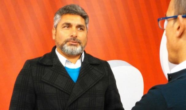 Juan José Cortés en un acto político