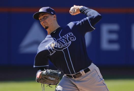 Snell es el único pitcher en llegar a 20 victorias en MLB este año. MLB.com.