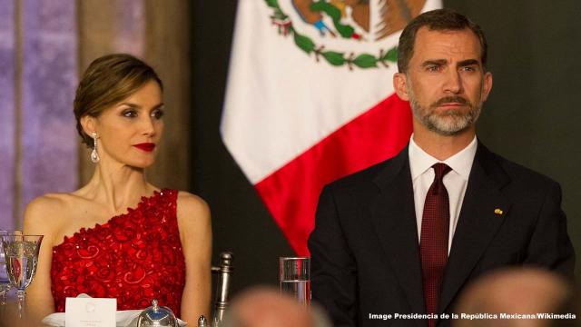 Trump's suggestion was made during a visit Spain's royals to the White House. [Image Presidencia de la República Mexicana/Wikimedia]