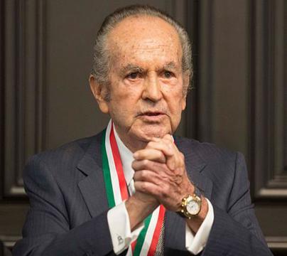 El millonario mexicano Alberto Baillères es dueño de la segunda compañía minera más grande de México