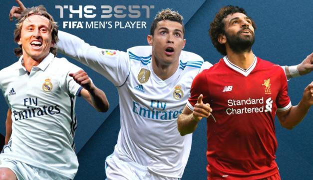 Modric, Ronaldo y Salah integran la terna a ganar el premio The Best de FIFA