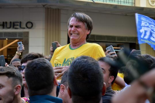 Atentado contra Jair Bolsonaro foi destaque na mídia internacional - thetimes.co.uk