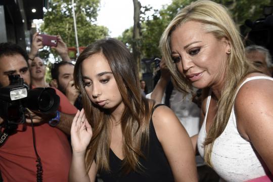 Así disfruta Andrea Janeiro de sus vacaciones sin Belén Esteban - Chic - libertaddigital.com